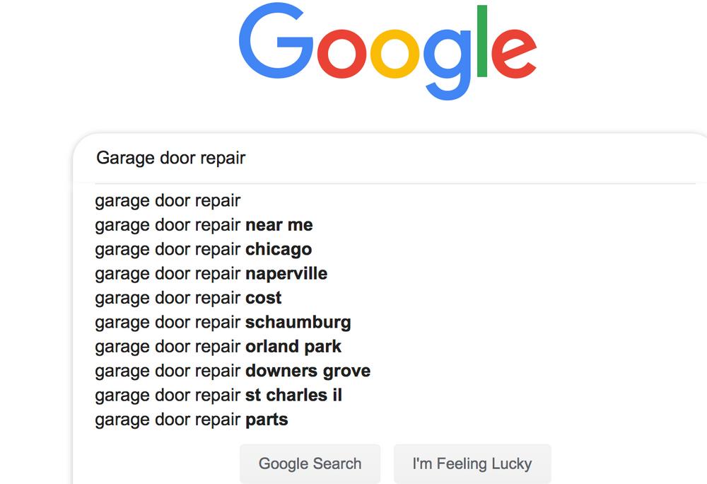 Garage Door Marketing