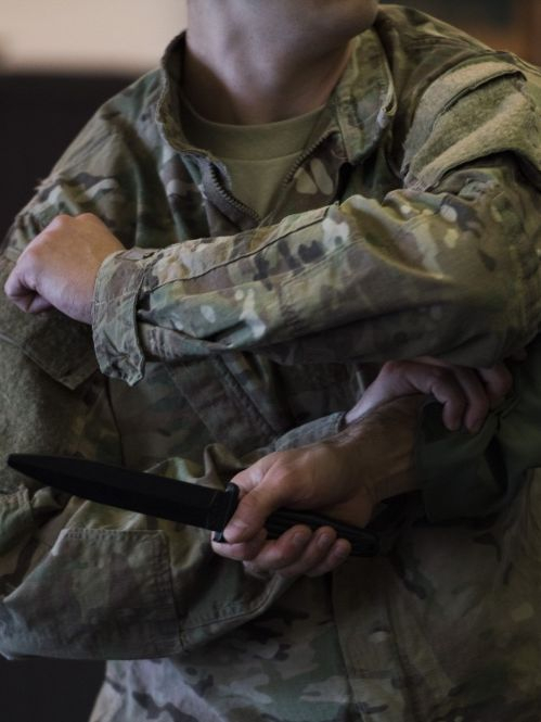 combatives, violence, de-escalate, learning from violence, War Is My Business, Grossman