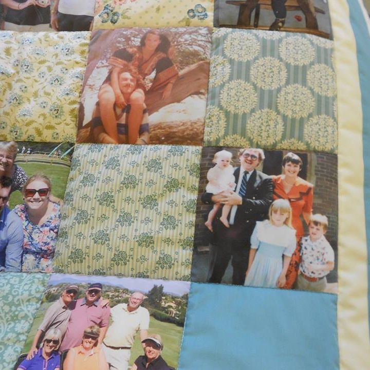 70th Birthday Photograph Quilt
