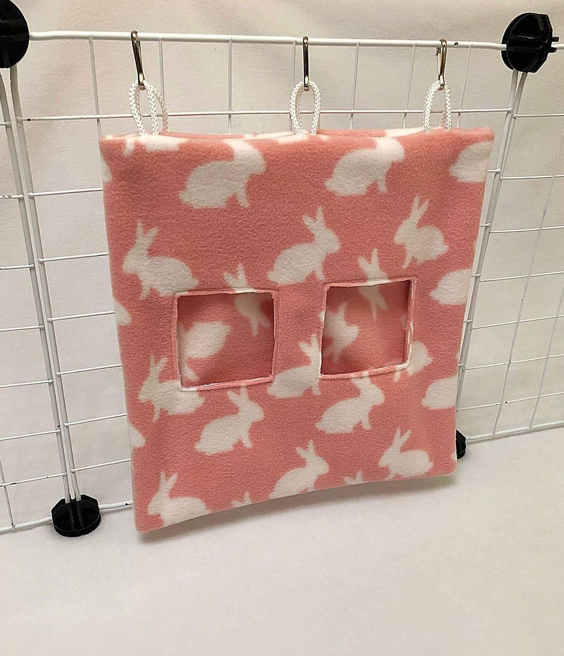 Hay Bag Unicorn cerise for guinea pig