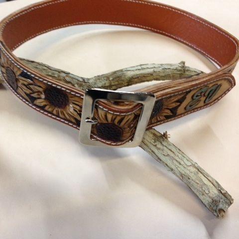 tooled spur straps , leather spur straps , custom tooled spur straps