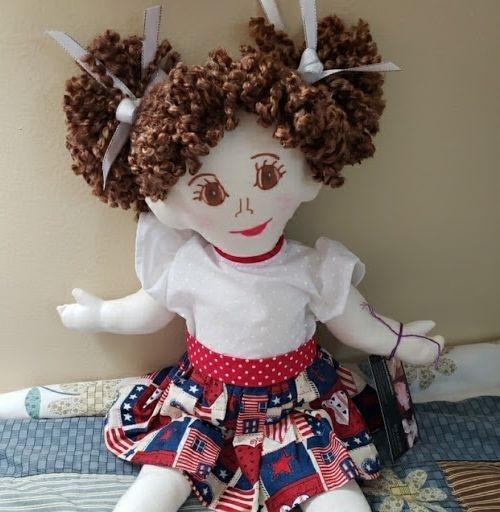 Rag Doll, Soft Doll, American Rag Doll, Toddle Toy, Baby Doll, First Doll