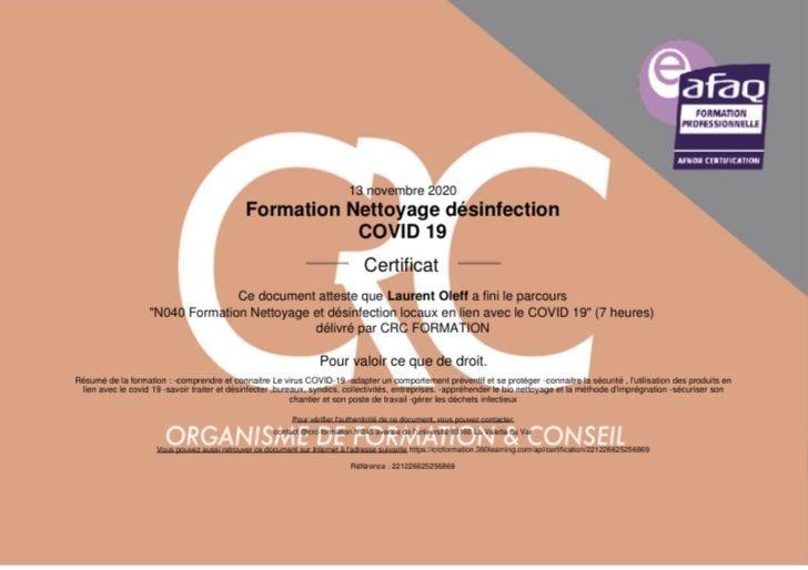 formation, Toulouse, covid, nettoyage, Saint-Lys, Muret, désinfection, propreté, contamination, désinfecter, bureaux, CRC Formation