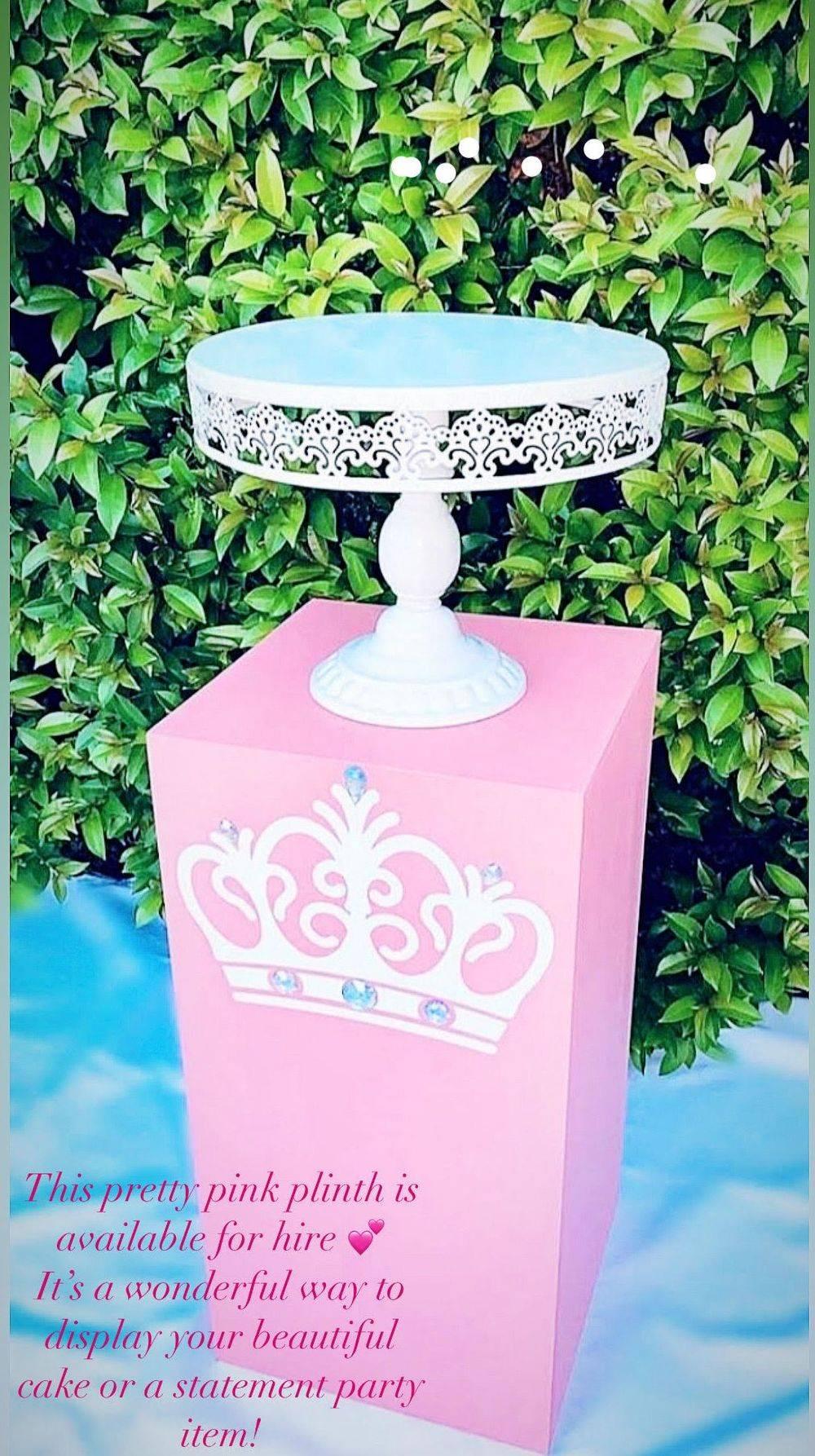 Pink Princess Crown Plinth