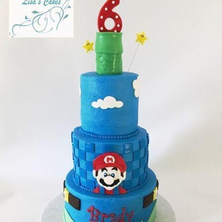 Super Mario Birthday Cake