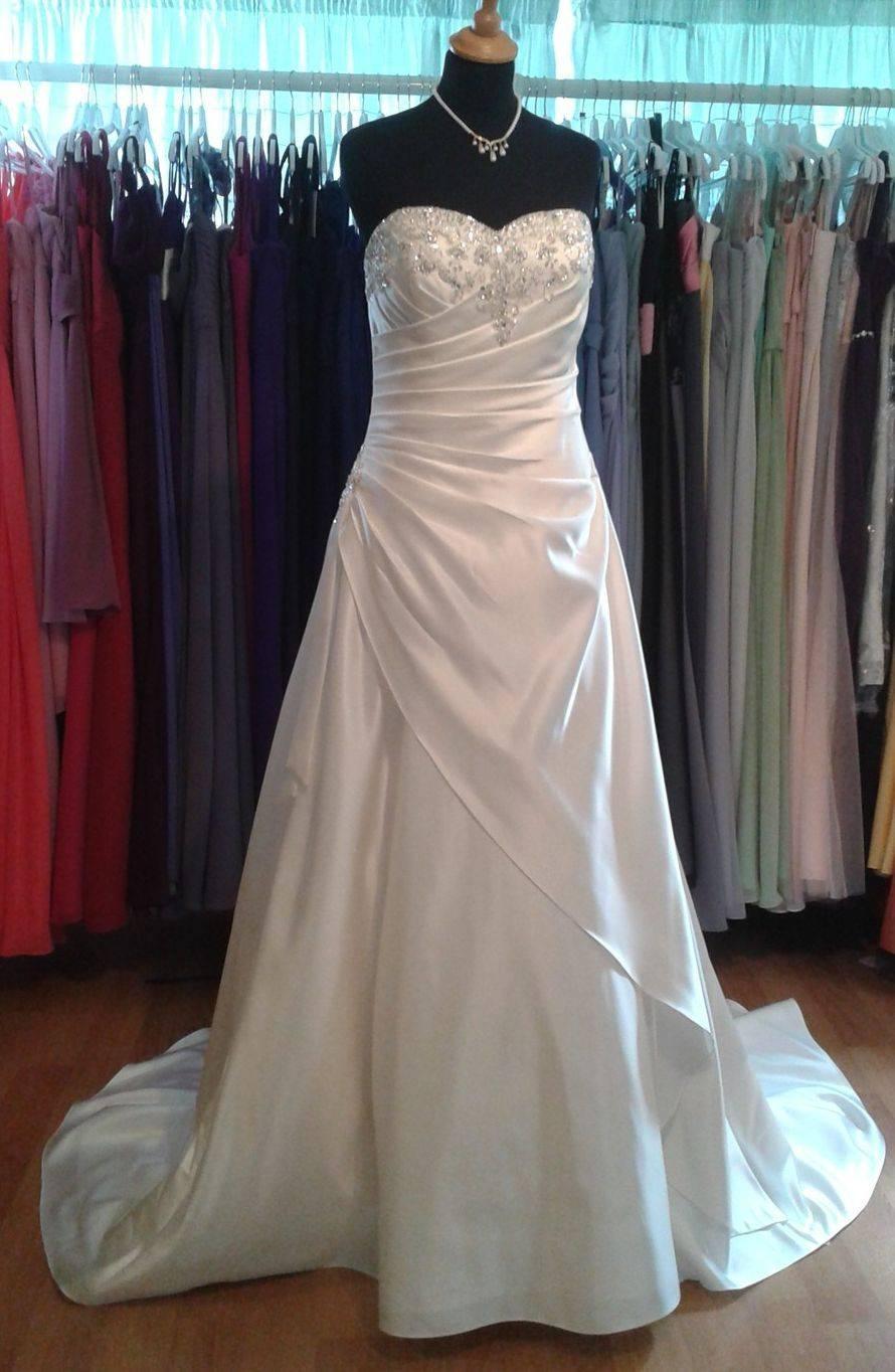 Plus size wedding dress 24
