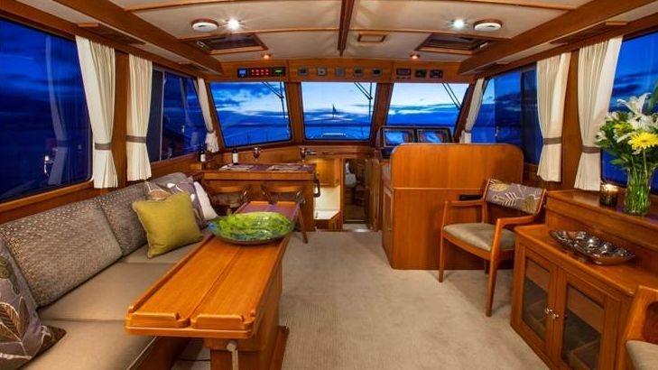 Newport Yacht Interiors, Grand Banks yachts, yacht interior