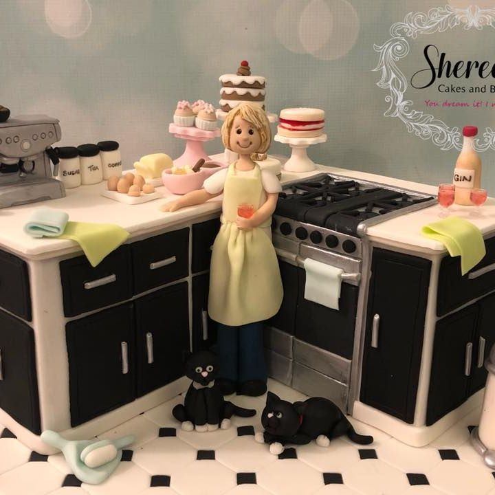 Kitchen Birthday Cake