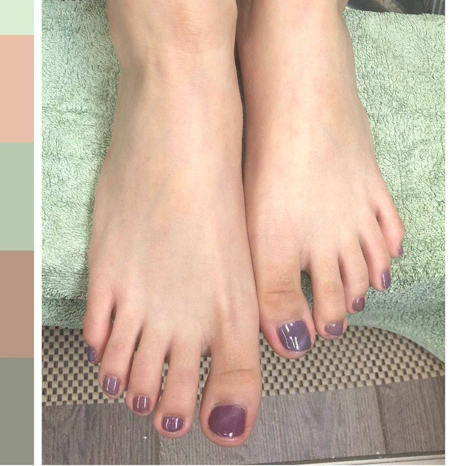 Pedicure-Gel Polish