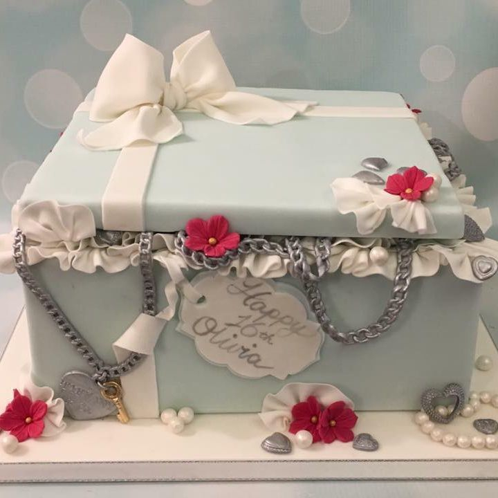 Tiffany Box Jewellery Jewelry Cake Birthday Bow