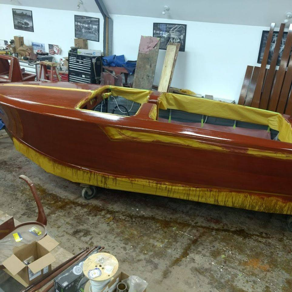new shepherd boat build