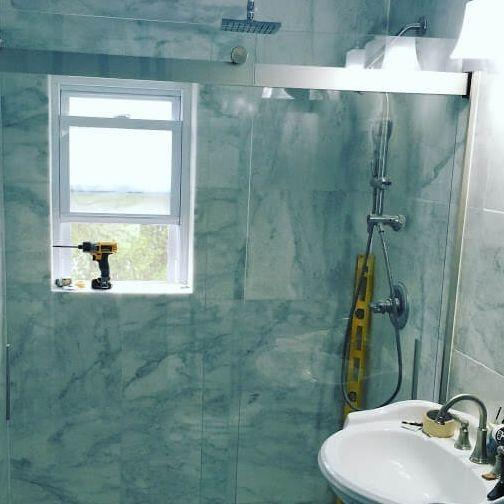 Bathroom Shower Installation Arcedo Construction