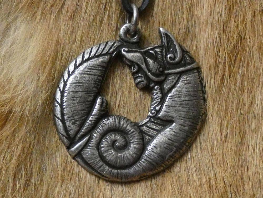 Celtic Fox Pendant, Fox, Celtic, Irish,  Shield Ravens