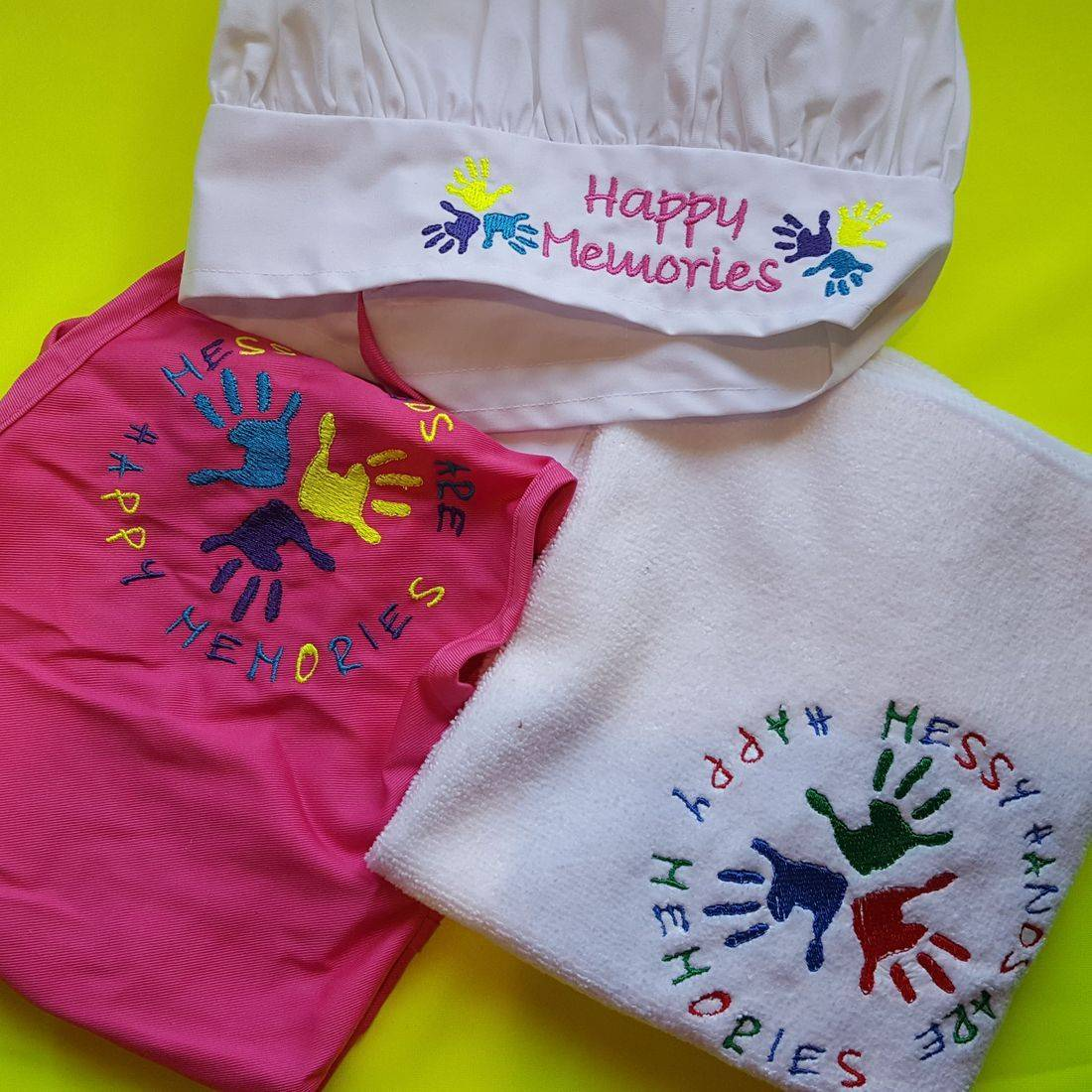 Embroidered Chef Set