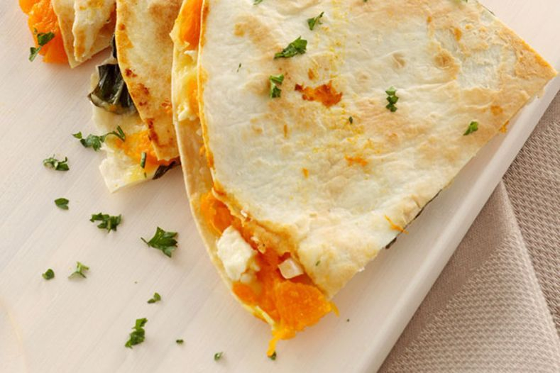 Chilaquas and quesadilla are great for breakfast