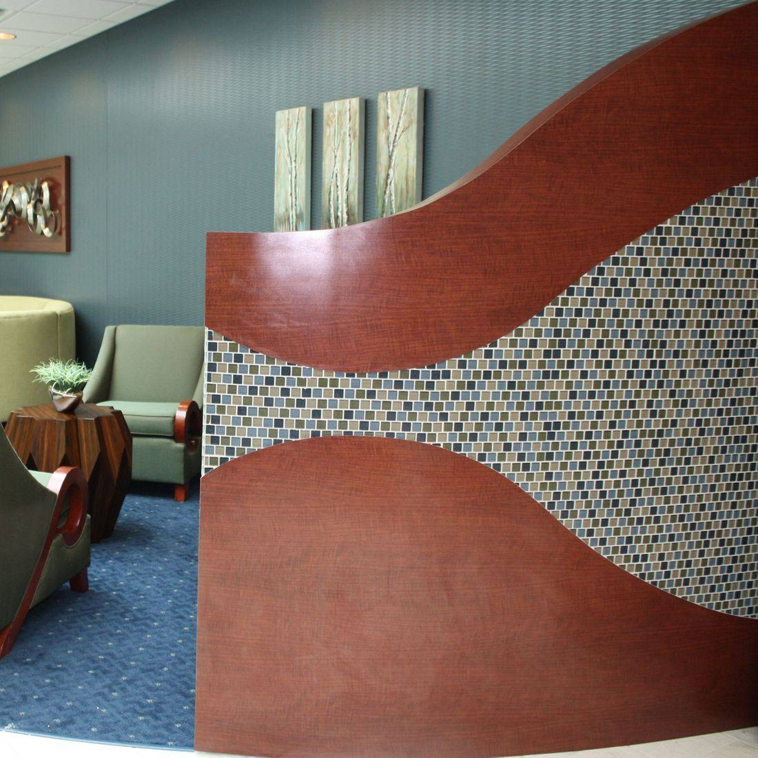 Lobby Interior Designereative Design Team / Marya