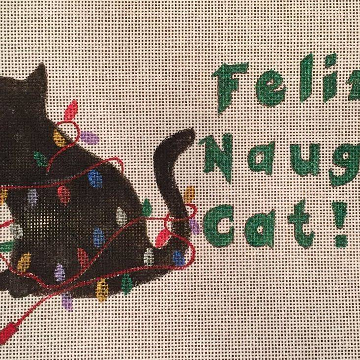 christmas, cat, naughty