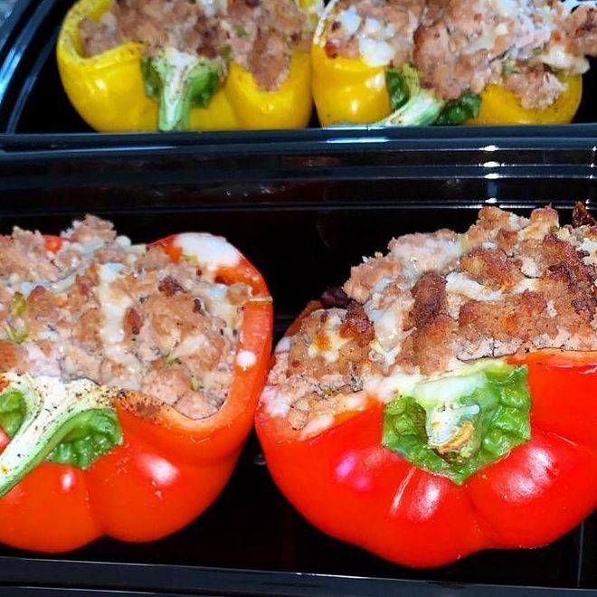 Salmon prepackaged lunch reheat