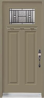 Single door Craftsman Heritage Shaker Painted shelf