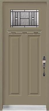 Single door Craftsman Heritage Shaker Painted shelf