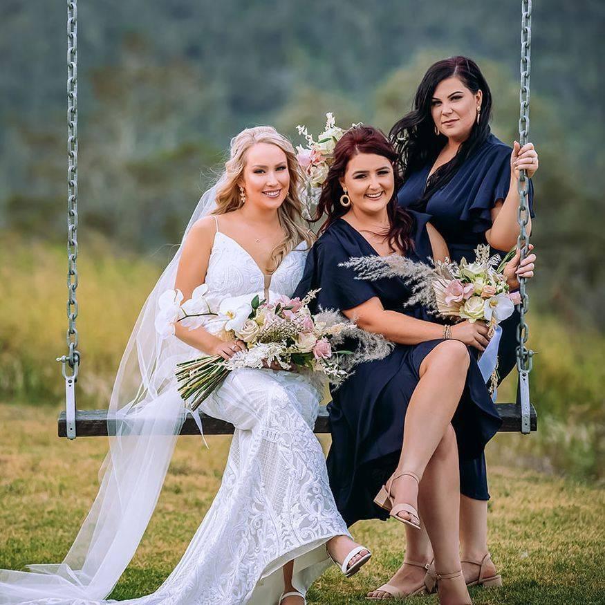 Bridal Party Florals - Toowoomba Florist