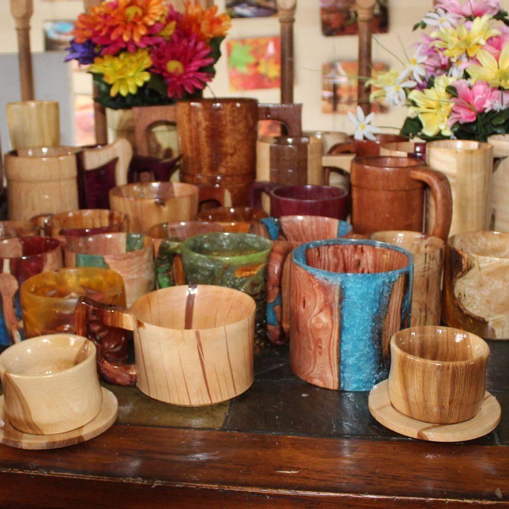 Wood/Resin Cups Mugs
