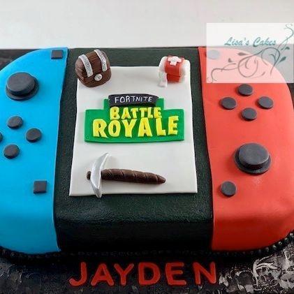 Fortnite Nintendo Birthday Cake