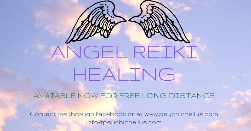 Angel Reiki Healing Long Distance Animal Healing Helius Andreas