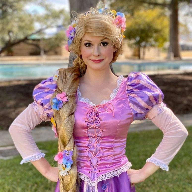 Princess Rapunzel for children's birthday parties in San Antonio