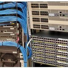 cisco switches field tech technician rack stack install