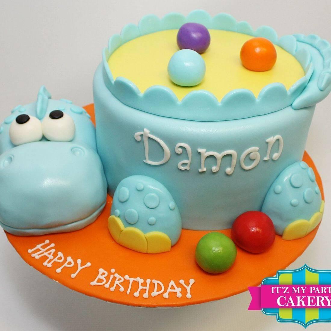 Baby Dino Toy Cake Dimensional Cake Milwaukee