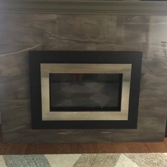 Tiled Fireplace Unit