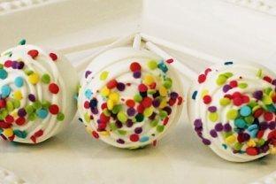Classic Cake pops Custom cakepopsStars New Year Cake pops