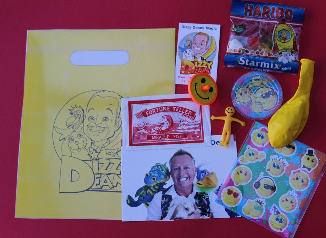 Dizzy Dean's Filled Party Bags