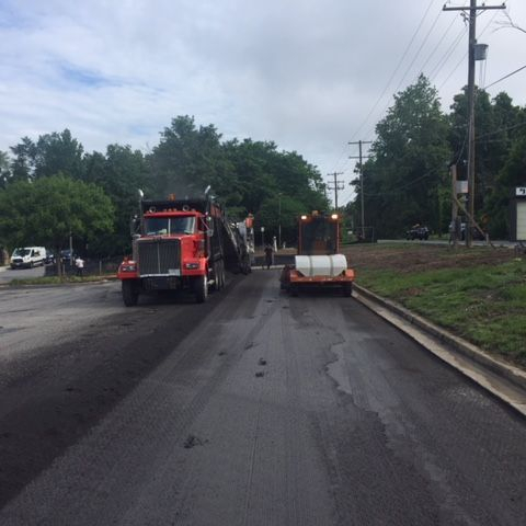 asphalt milling and overlay