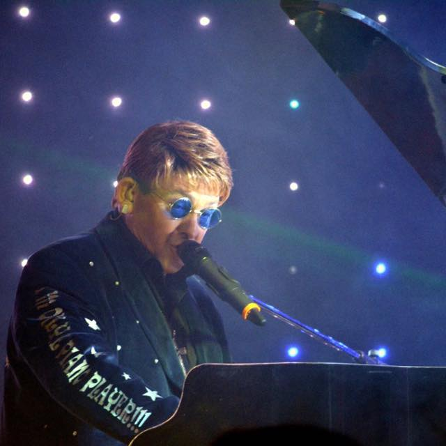 Elton John Tribute act  Andy Crosbie  Rocketman on tour #