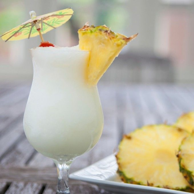 healthy pina colada smoothie recipe