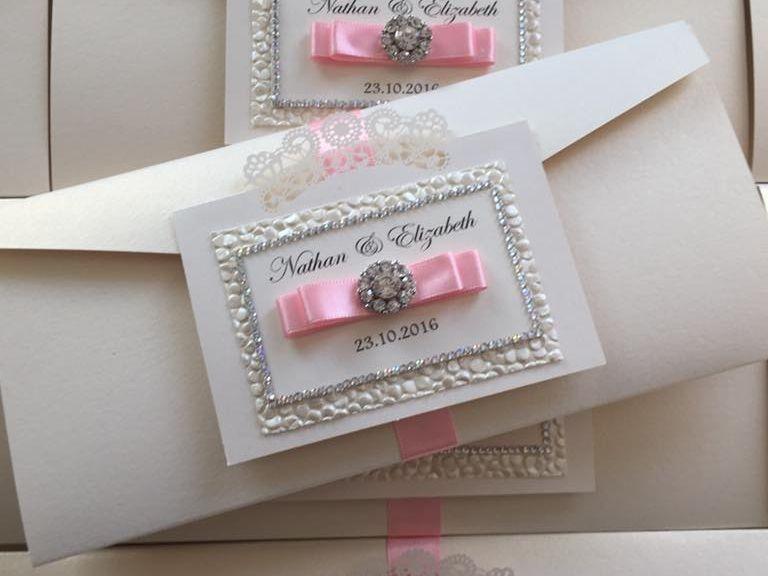 Pocketfold invitations, slim pocketfold invitations, wedding invitations