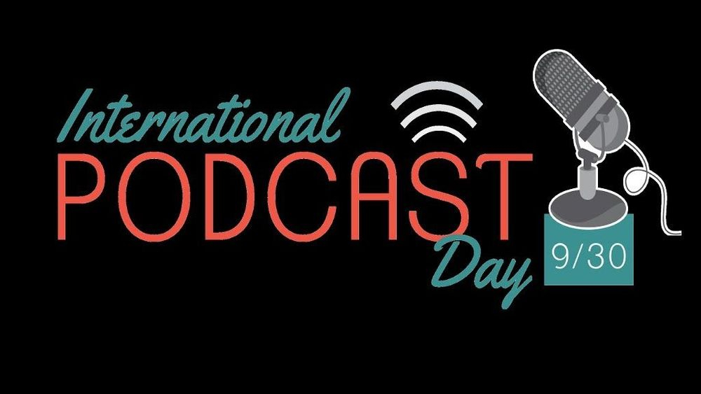 International podcast day across all podcast shows