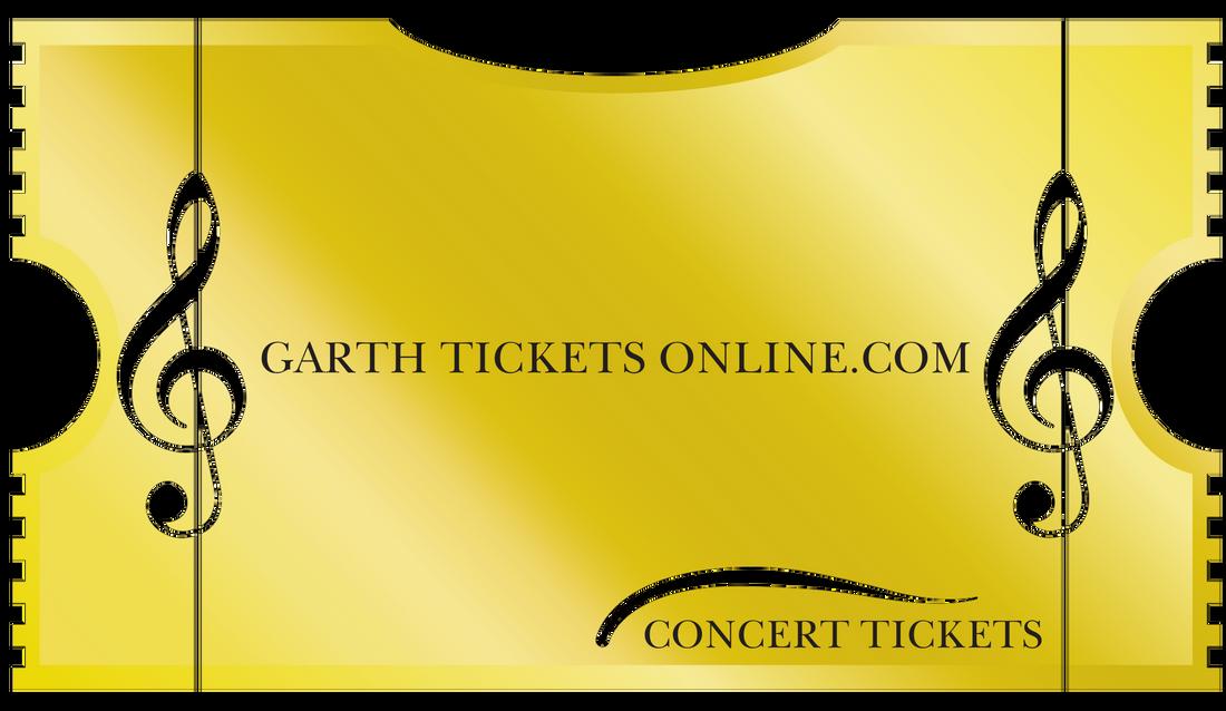 Garth Tickets Online