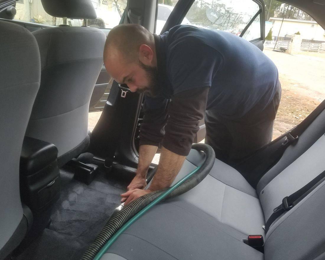 mobile car detailing, carpet  shampoo, interior detailing, Gwinnett Auto Appeareance