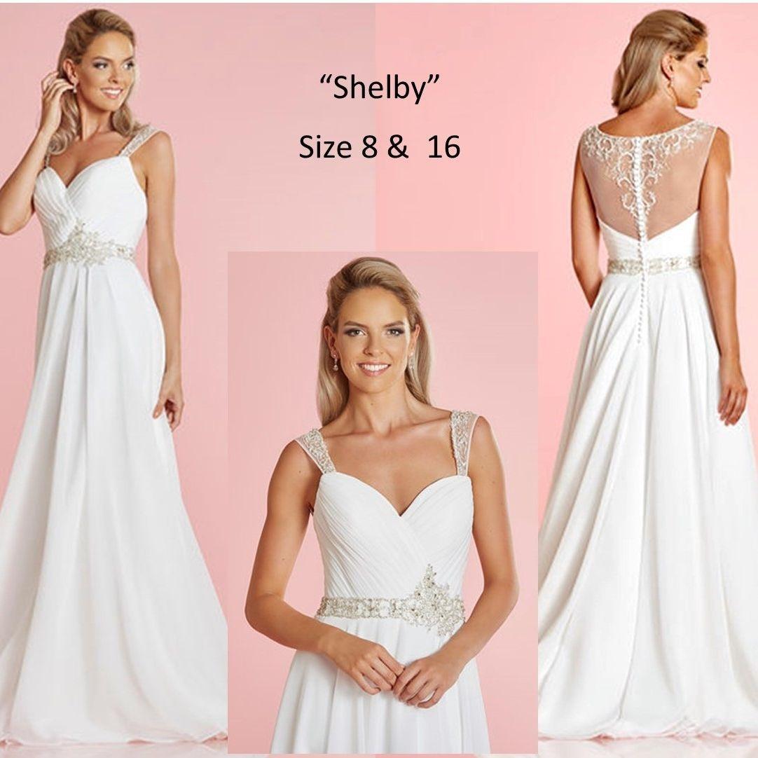 simple dress, beach wedding, civil ceremony, informal wedding dress