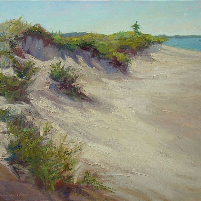 KCrenshaw -  Dunes, Morning 20x24 oil on linen