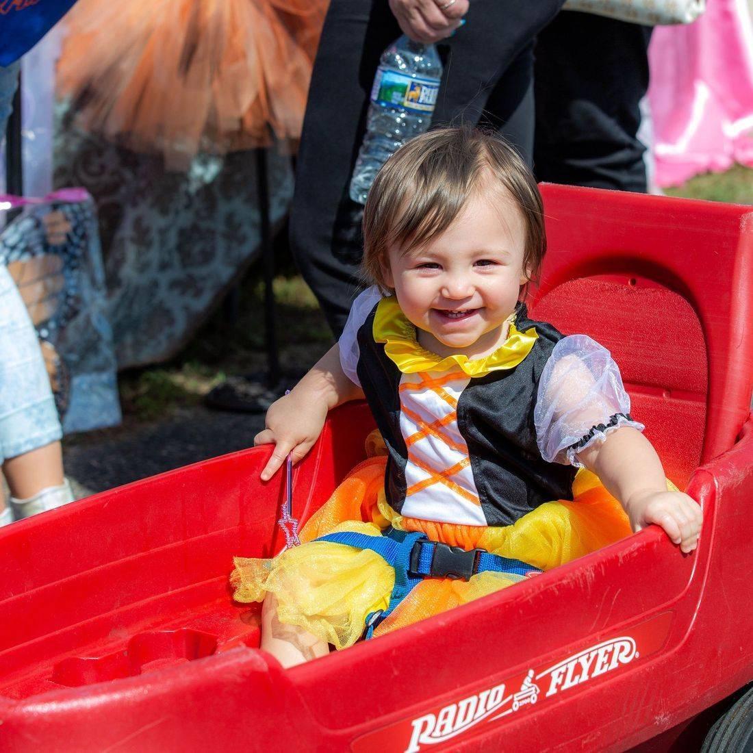 fairy costume, kid costume, girl costume,  radio flyer, go kart, go cart