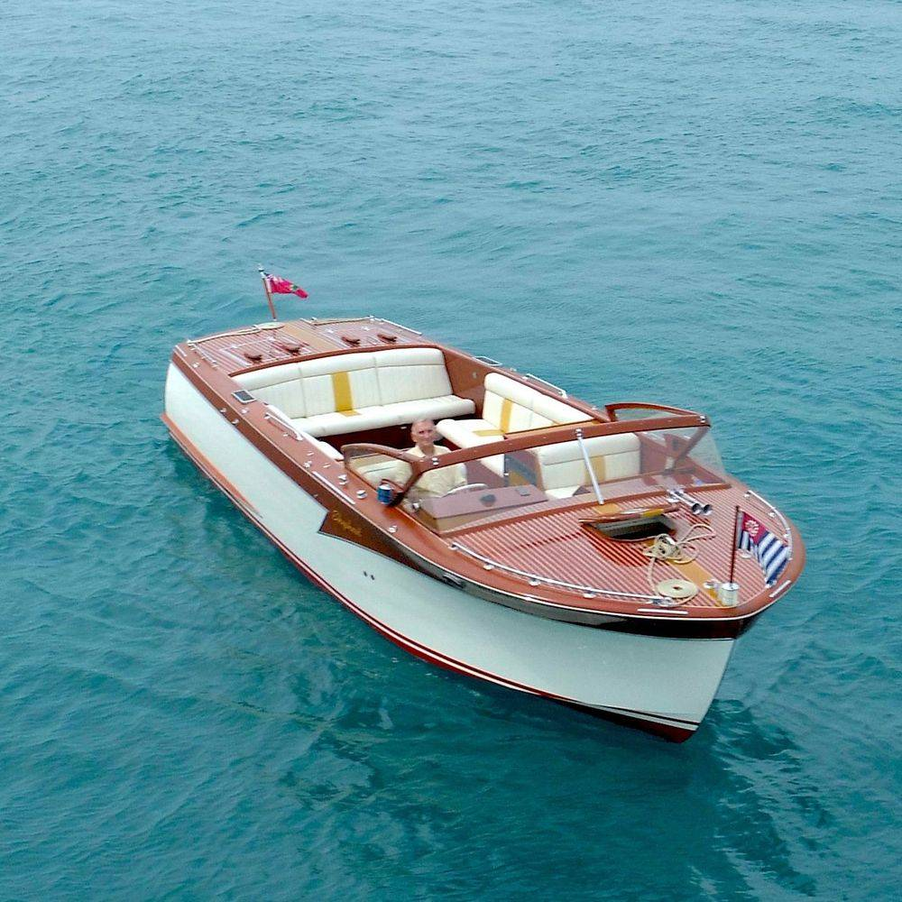 Shepherd wood boat for sale