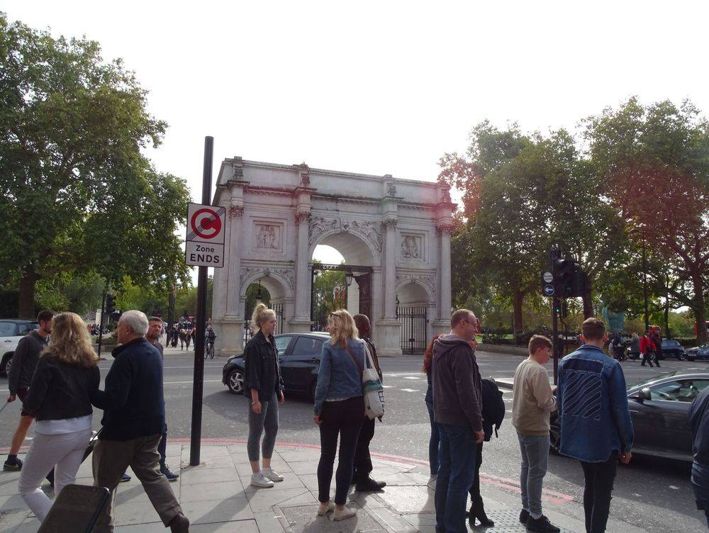 hyde park ,london united kingdom, walking on a fine autumn day in london, british & far east traders
