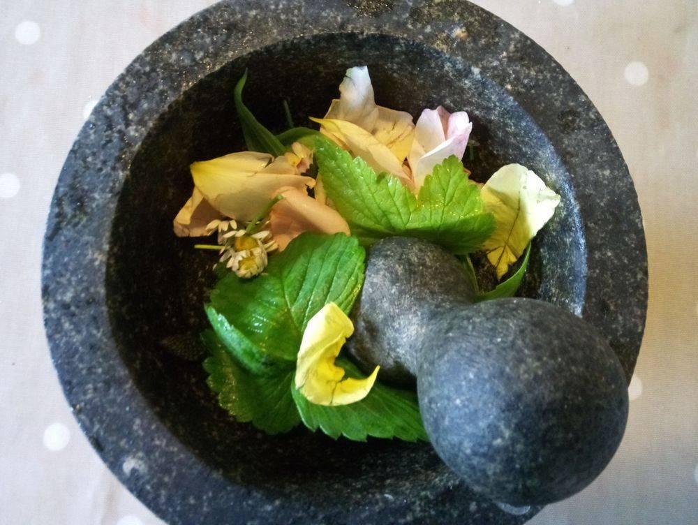 flower medicine, herbal concoction