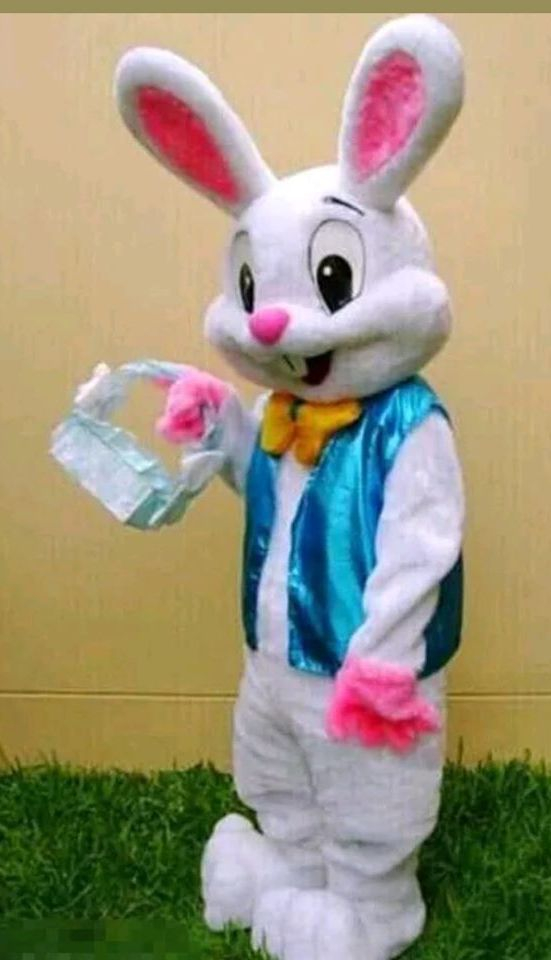 easter bunny, mascot