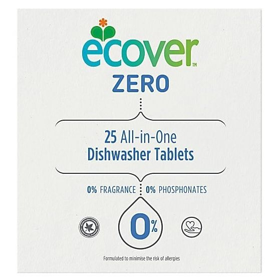 Eco friendly dishwasher tablets cleaning