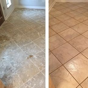 Ceramic Floor Cleaning